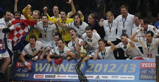 هامبورغ يهزم برشلونة ويتوج بالبطولة للمرة الأولى